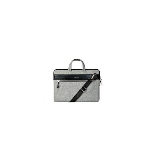 aaf31f06e96cb Cartinoe torba na laptopa London Style Series 13,3 cala szara - Czarny \  13.3