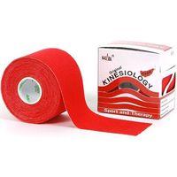 Taśma do tapingu nasara logy tape 5cm x 5m - czerwona marki Kinesio