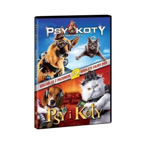 Psy i koty pakiet (2 dvd)