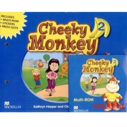 Cheeky Monkey 2. Podręcznik + CD, Macmillan