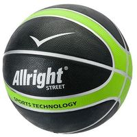 Piłka do koszykówki street green 7 marki Allright