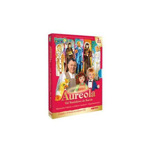 Aureola- od Stanisława do Karola album 3 płyt DVD +etui