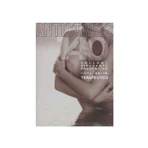 Rajstopy przeciwżylakowe 140 den terapeutico - przeźroczyste, ii klasy kompresji, ucisk 22-29 mmhg - antistress Antistress (włochy)