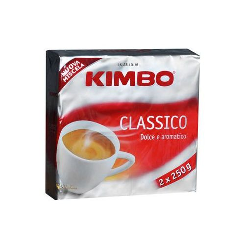Kimbo classico dolce e aromatico 2 x 0,25 kg mielona