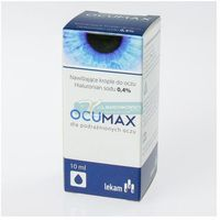 Ocumax 0,4% krople do oczu 10 ml, 36747