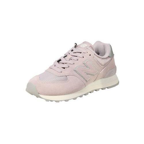 New balance trampki niskie 'wl574' szary / różowy pudrowy
