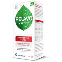 Pelavo Multi 6+ syrop przeziębienie i grypa 120ml