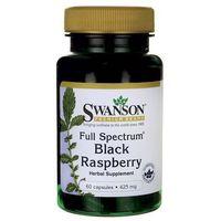 Kapsułki Swanson Full Spectrum Black Raspberry (Malina czarna) 425mg 60 kaps.