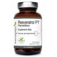 Kapsułki Pterostilbeny - Resveratrol PT (60 kaps.) Kenay AG