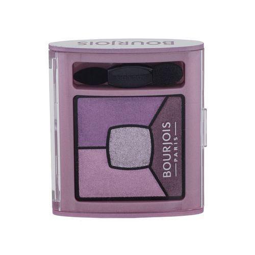 Bourjois paris smoky stories quad eyeshadow palette cienie do oczu 3,2 g dla kobiet 07 in mauve again - Bardzo popularne