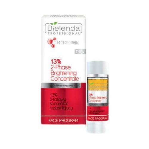 Bielenda Professional 13% 2-PHASE BRIGHTENING CONCENTRATE 13% 2-fazowy koncentrat rozjaśniający