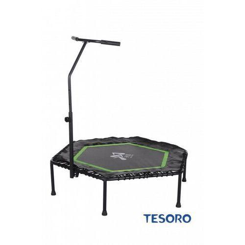 Tesoro Trampolina fitness hexagon 50 inch zielony (6052340240374)