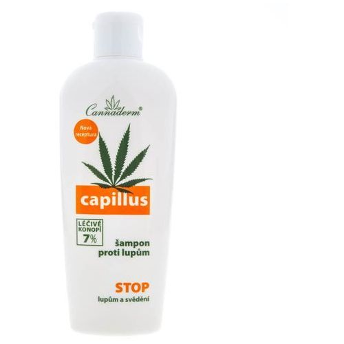 Cannaderm capillus szampon przeciwłupieżowy (7% healing hemp) 150 ml