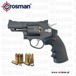 Crosman Wiatrówka rewolwer snr357 4,5 mm - co2, kulki bb, diabolo, metal, sa/da