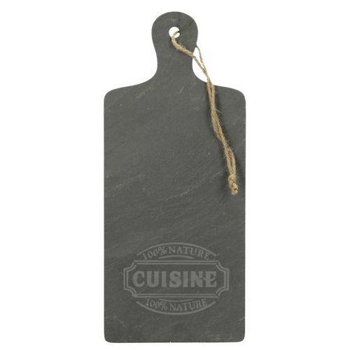 Taca cuisine łupek naturalny 35x15x0,5cm, 35x15x0,5cm Dekoria