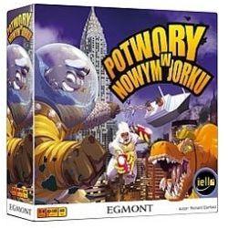 Egmont Potwory w nowym jorku. gra planszowa