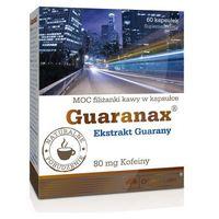 Kapsułki Olimp Guaranax Guarana extract 400mg (80mg kofeiny) 60 kaps.