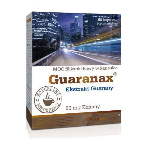 Kapsułki Olimp Guaranax Guarana extract 400mg (80mg kofeiny) 60 kaps