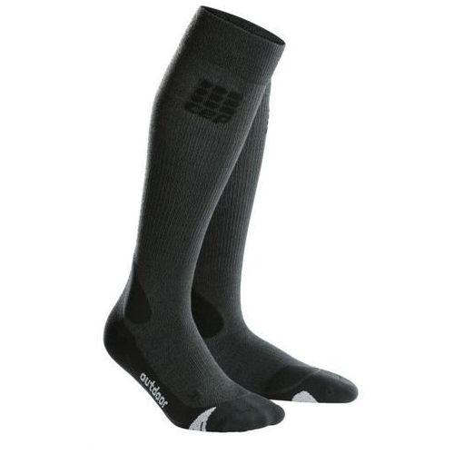 Skarpety progr+ outdoor merino socks wmn black/grey rozmiar ii marki Cep