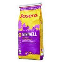 Josera Duże opakowanie + worki na odchody, 4 x 20 szt. gratis! - miniwell adult, 15 kg  darmowa dostawa od 89 zł i super promocje od zooplus! (4032254740728)