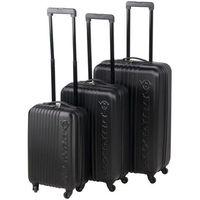 Zestaw walizek mała duża średnia Dunlop x3