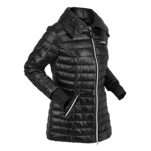 Kurtka pikowana outdoorowa czarny, Bonprix, 38-52