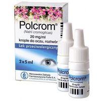 Polcrom 2% krople do oczu 2 x 5ml marki Polfa warszawa
