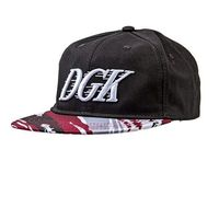 czapka z daszkiem DGK - Fastbreak Snapback Black (BLACK)