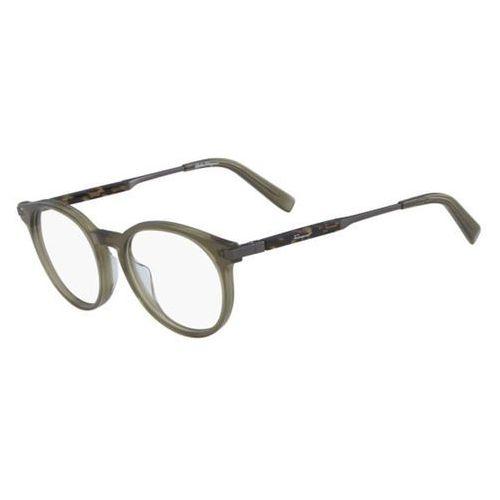 Okulary korekcyjne sf 2802 322 Salvatore ferragamo