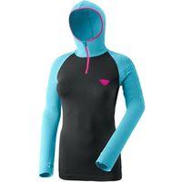 Dynafit Dryarn Warm Bluza Kobiety, turkusowy/czarny S/M 2021 Koszulki bazowe z długim rękawem