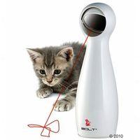 Laserowa zabawka dla kota FroliCat Bolt - Biała