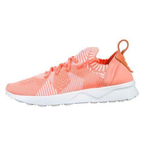 adidas Originals ZX Flux ADV Virtue Primeknit Sneakers Pomarańczowy 39 1/3, kolor biały