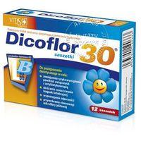 Dicoflor Activ 30 d/dzieci gran.rozp.w ustach - 10 sasz. (8033300190104)