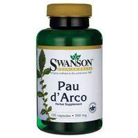 Kapsułki Swanson Pau D'Arco 500mg 100 kaps.
