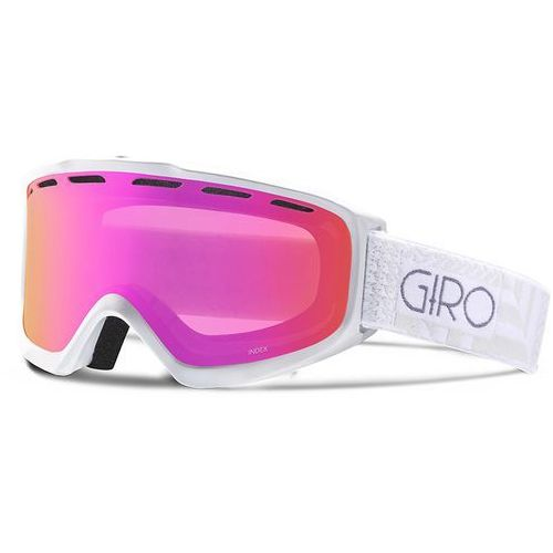 Giro gogle index black wordmark/rose silver m