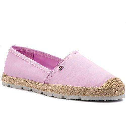 71c207e2029a8 Tommy Hilfiger Espadryle TOMMY HILFIGER - Basic Sporty Flat Espadrille  FW0FW04041 Pink Lavender 518, w 7 rozmiarach