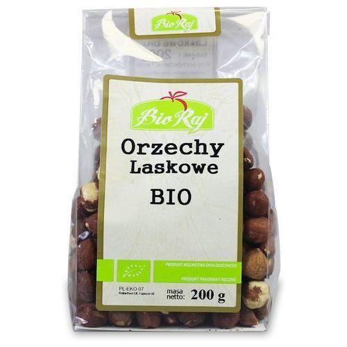 Orzechy laskowe bio 200 g bio raj marki Bio raj (konfekcjonowane)