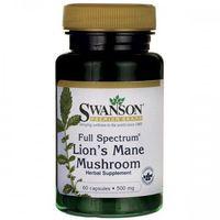 Kapsułki SWANSON Full Spectrum Lion's Mane Mushroom (soplówka jeżowata) 60 kaps.