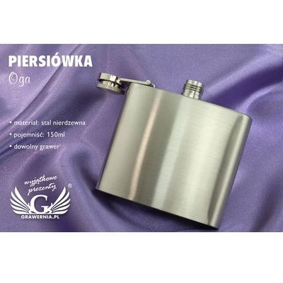 Piersiówki GRAWERNIA.PL - Grawerowanie i Wycinanie Laserem GRAWERNIA.PL