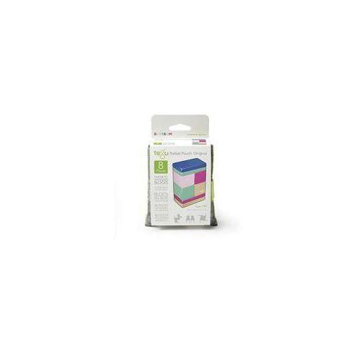 Zestawy original pocket pouch in blossom, 8szt. marki Tegu