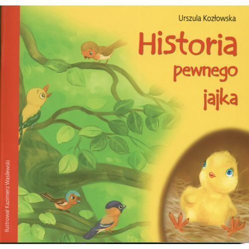 Historia pewnego jajka - Urszula Kozłowska, oprawa miękka