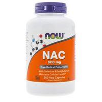 Kapsułki Now Foods NAC N-Acetyl Cysteine 600 mg - 250 kapsułek