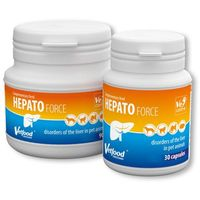VETFOOD Hepatoforce 90kaps. (5907368864587)