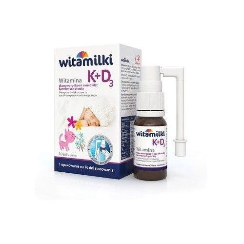 WITAMILKI WITAMINA K+D3 aerozol 10ml