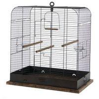 Zolux Klatka Retro Madelaine dla ptaków 54x34x53cm - czarna - miedź antyczna