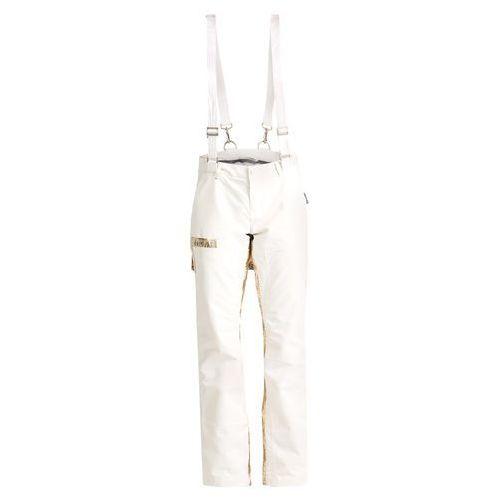 Burton LAMB JOHNNY Spodnie narciarskie stout white/gold