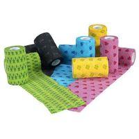 Kruuse bandaż opaska fun-flex samoprzylepna wzorki 5cm