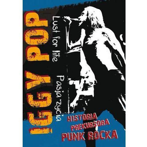 Iggy pop - pasja życia (dvd) - agencja artystyczna od 24,99zł darmowa dostawa kiosk ruchu marki Mtj