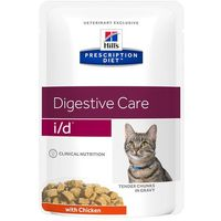 Hills prescription diet id digestive care, kurczak w sosie - 12 x 85 g