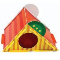 Zjeżdżalnia z tektury - domek dla gryzoni